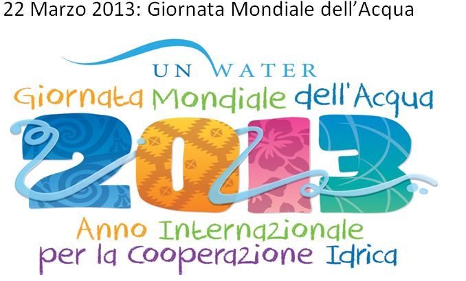 Acqua Day 2013. Da una Giornata Mondiale all'altra