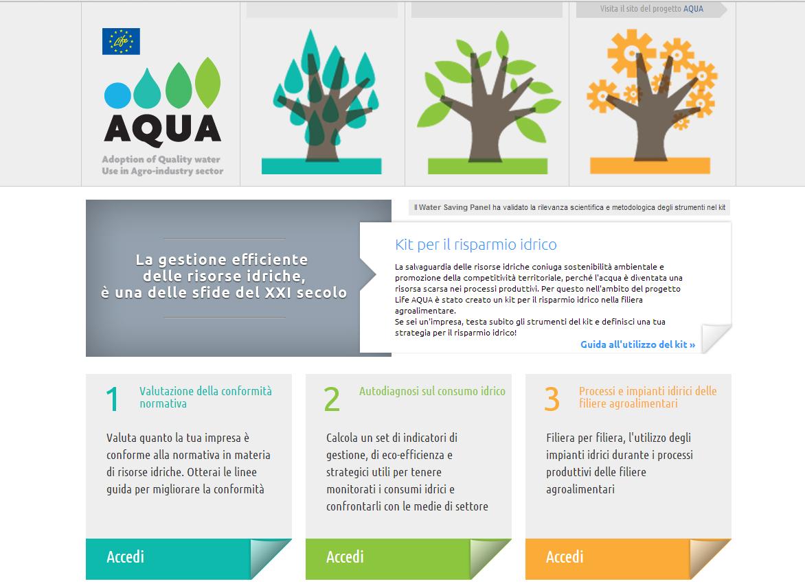 Emilia Romagna: on line kit risparmio idrico per le imprese agroalimentari