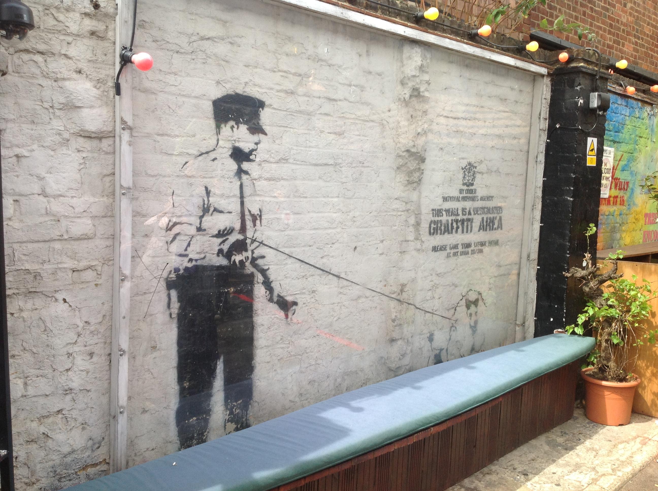 Street art per riqualificare le città. Il caso (esemplare) di Londra