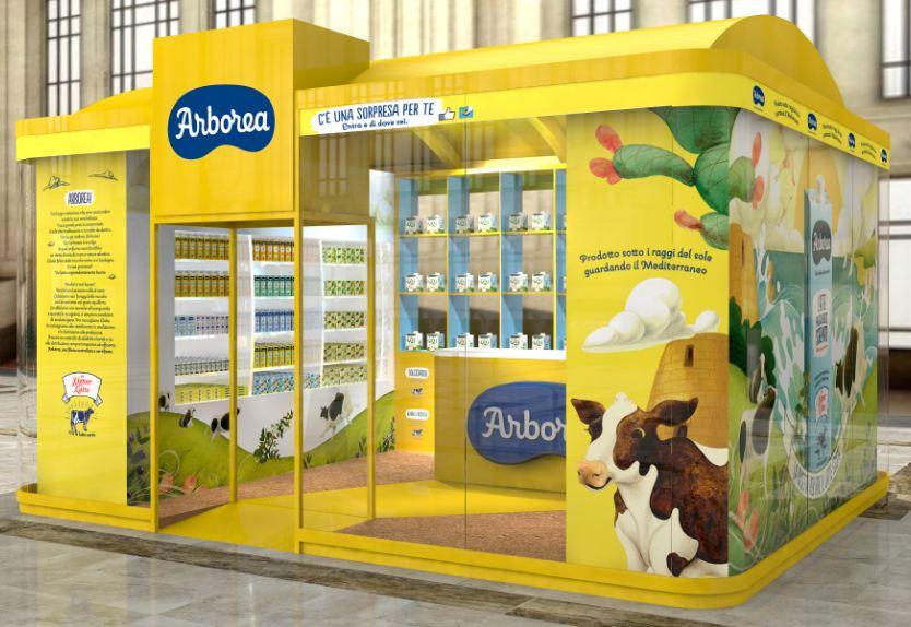 Le mucche sarde alla Stazione Centrale di Milano dal 15 aprile al 14 maggio