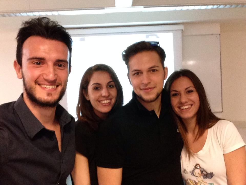 selfie dei vincitori del #selfiedacqua