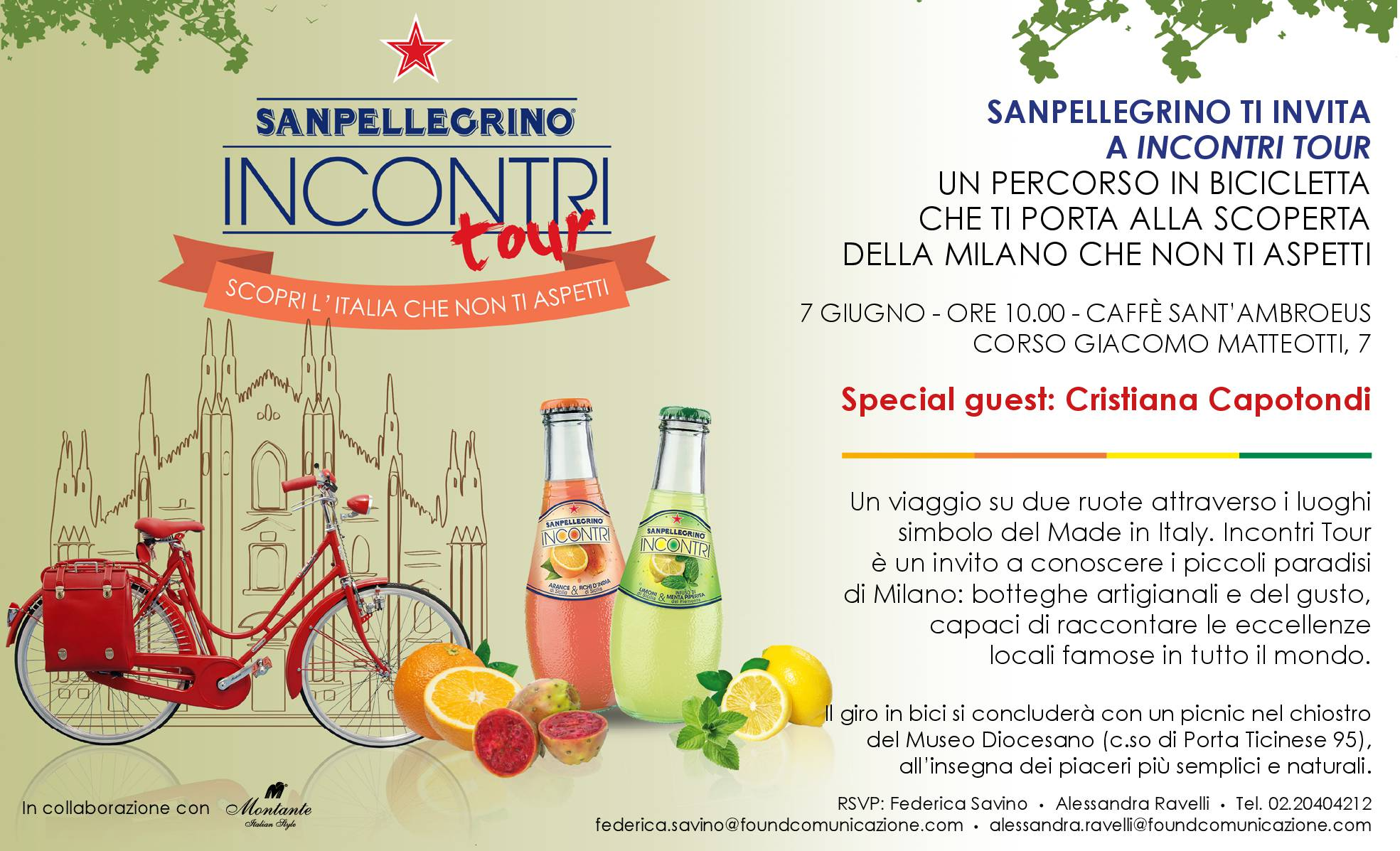Sanpellegrino Incontri Tour Milano