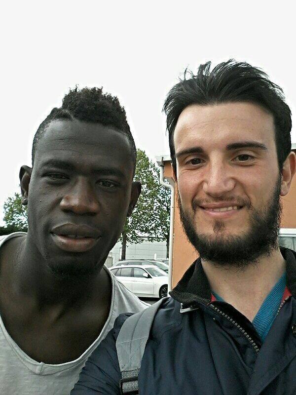 Praticamente due gocce d'Acquah. #selfiedacqua (Afriyie Acquah, centrocampista Parma FC) di Filippo Migheli