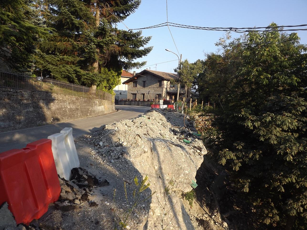 Strada Palanzano frane, Ruzzano (2)