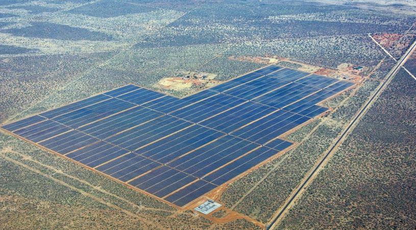 Grande parco solare su una discarica (coperta) negli USA