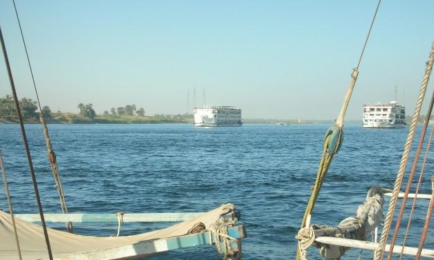 La strada che porta a Luxor