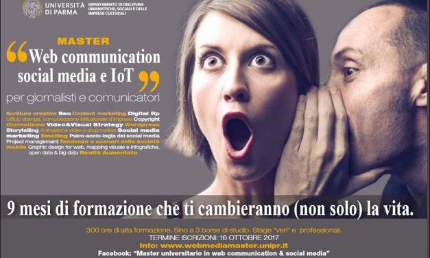 Mobile, social e smart.  Il primo master italiano per comunicatori 4.0.