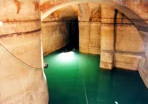 La raccolta delle acque nei Sassi di Matera