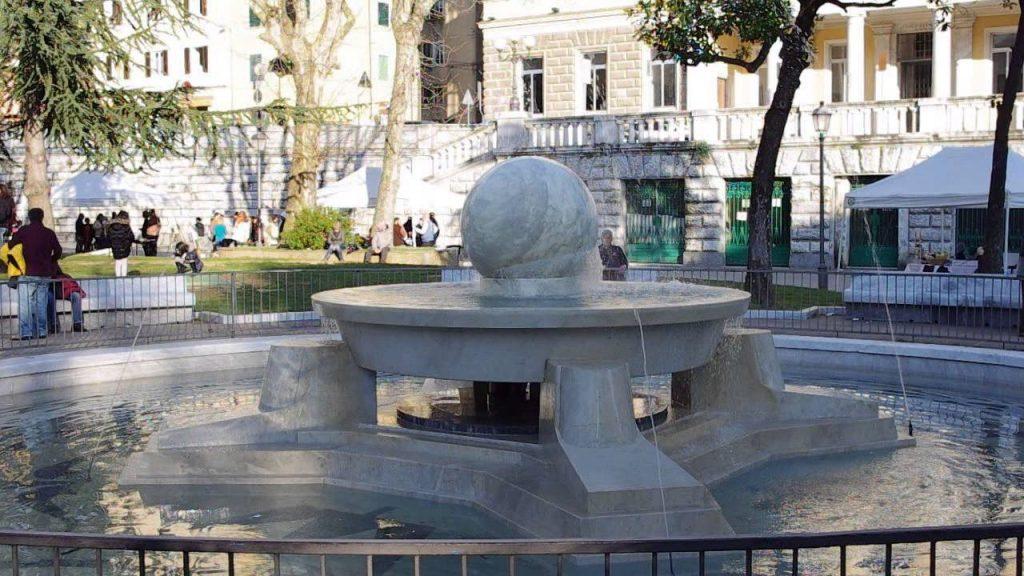 fontana di piazza d'armi